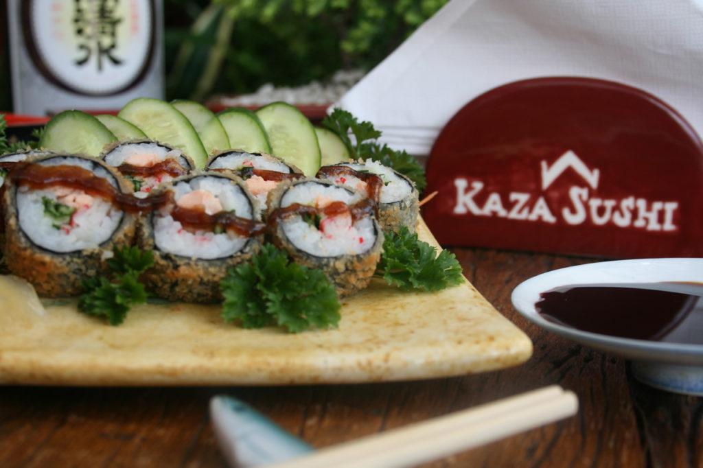 sushi na sua casa