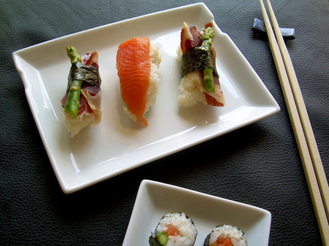 Sushi para iniciantes: como comer com hashi
