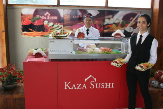 serviço domiciliar de comida japonesa