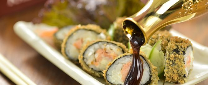 Buffet Comida Japonesa para Festa